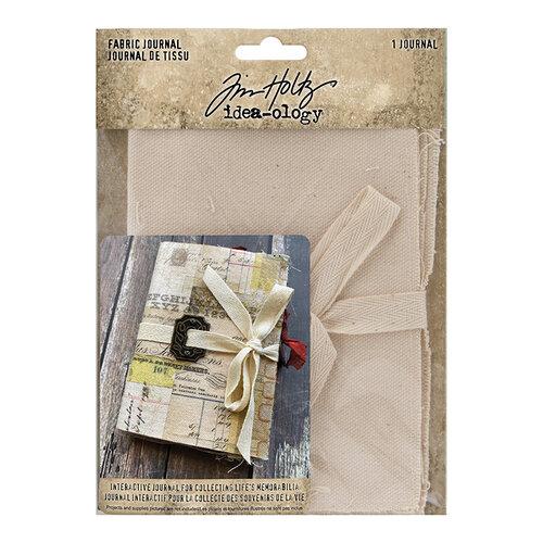 Idea-ology - Tim Holtz - Fabric Journal