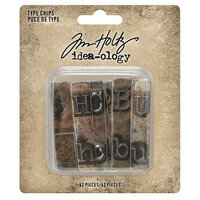 Idea-ology - Tim Holtz - Type Chips