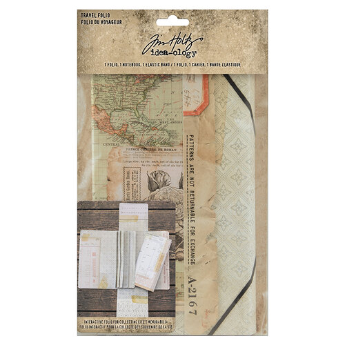 Idea-ology - Tim Holtz - Travel Folio