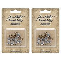 Idea-ology - Tim Holtz - Antiqued Gems - 2 Pack