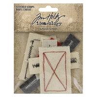 Idea-ology - Tim Holtz - Stitched Scraps