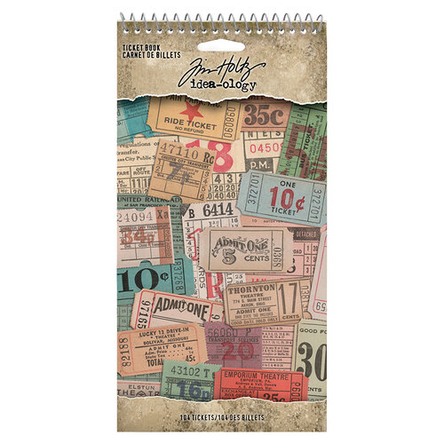 Idea-ology - Tim Holtz - Ticket Book