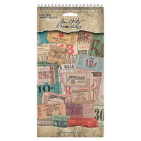 Idea-ology - Tim Holtz - Ticket Book