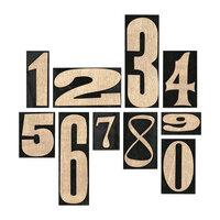Idea-ology - Tim Holtz - Number Blocks