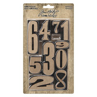 Idea-ology - Tim Holtz - Number Blocks