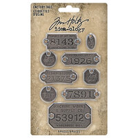 Idea-ology - Tim Holtz - Factory Tags