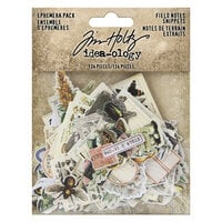 Idea-ology - Tim Holtz - Ephemera Snippets - Field Notes