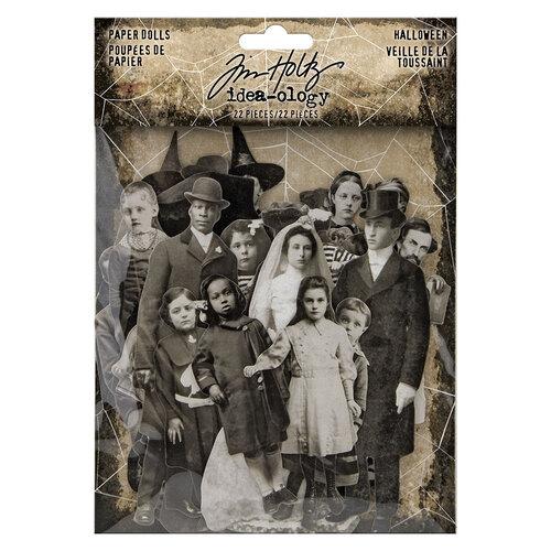 Idea-ology - Tim Holtz - Halloween - Paper Dolls