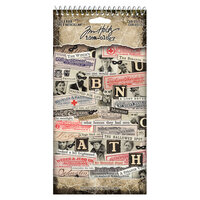 Idea-ology - Tim Holtz - Halloween - Sticker Book - Curiosities
