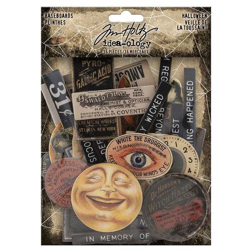 Idea-ology - Tim Holtz - Halloween - Baseboards
