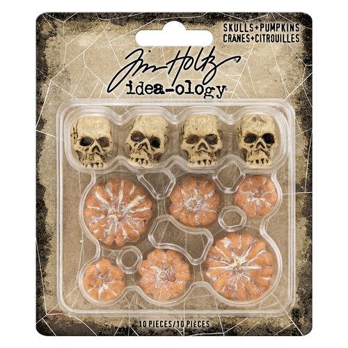 Idea-ology - Tim Holtz - Halloween - Skulls and Pumpkins