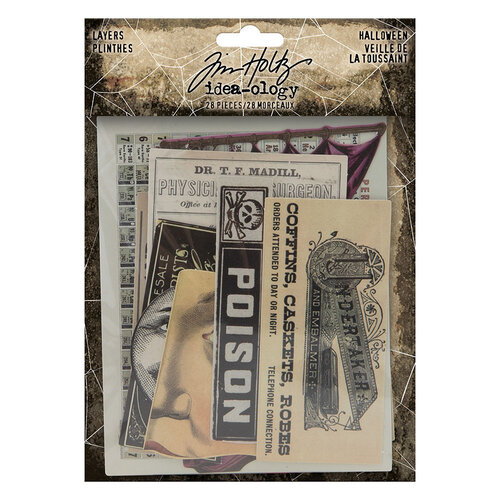 Idea-ology - Tim Holtz - Halloween - Layers