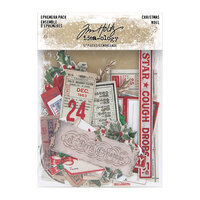 Idea-ology - Tim Holtz - Christmas - Ephemera