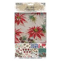 Idea-ology - Tim Holtz - Christmas - Worn Wallpaper - 24 Sheets