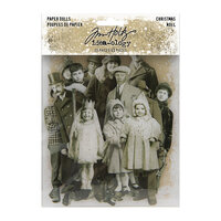 Idea-ology - Tim Holtz - Christmas - Paper Dolls