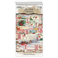 Idea-ology - Tim Holtz - Christmas - Sticker Book