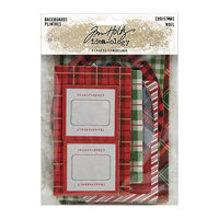 Idea-ology - Tim Holtz - Christmas - Baseboards