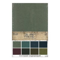 Idea-ology - Tim Holtz - 6 x 9 Kraft Stock - Cool