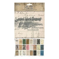 Idea-ology - Tim Holtz - 6 x 10 Backdrops - Volume One