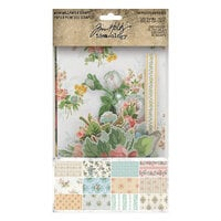 Idea-ology - Tim Holtz - Worn Wallpaper Scraps