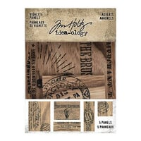 Idea-ology - Tim Holtz - Vignette Advert Panels