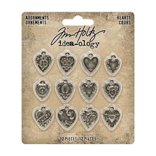 Idea-ology - Tim Holtz - Adornments - Hearts