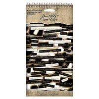 Idea-ology - Tim Holtz - Metallic Sticker Book
