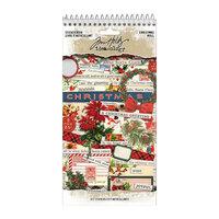 Idea-ology - Tim Holtz - Christmas - Sticker Book