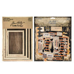 Advantus - Tim Holtz - Idea-ology Collection - Vignette Box Complete Kit - Halloween
