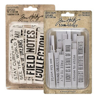 Idea-ology - Tim Holtz - Quote Chips - Theories and Quotes Bundle
