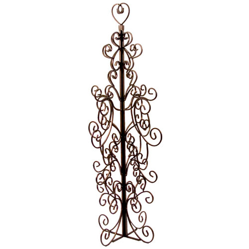 Advantus - Tree Of Life - Metal Tree Display - Bronze Finish with Open Heart, BRAND NEW