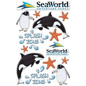 Creative Imaginations Sea World Epoxy Sticker