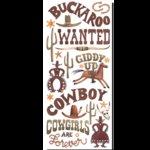Creative Imaginations - Debbie Mumm Collection - Western Stickers