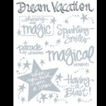 Creative Imaginations - Magic - Large Glitz Impress On - Disney