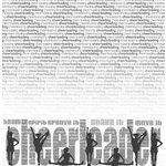 Creative Imaginations Paper - Art Warehouse by Danelle Johnson - Cheerleading