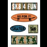 Creative Imaginations - Sports Xtreme Collection - Sk8er - Chipboard