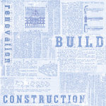 Creative Imaginations Paper - by Marah Johnson - Home Improvement Collection - Construction