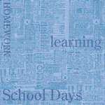 Creative Imaginations Paper - by Marah Johnson - School Collection - School Days, CLEARANCE