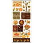 Creative Imaginations - Harvest Collection by Debbie Mumm - Jumbo Stickers - Harvest