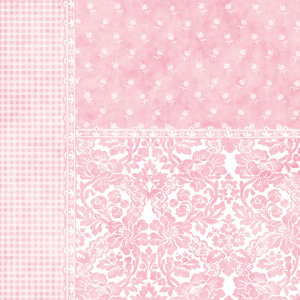 Creative Imaginations - Sonnets by Sharon Soneff - Paper - Pink Quilt