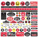 Creative Imaginations - Magic Collection - 12x12 Sticker Sheets - Magic Phrases