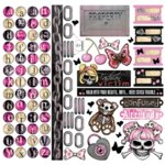 Creative Imaginations - Caution Girl Collection - 12x12 Cardstock Stickers