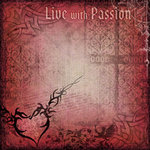 Creative Imaginations - Intentions Collection by Marah Johnson - 12x12 Paper - Passion