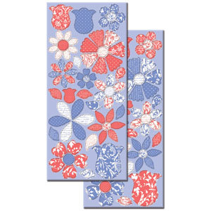Creative Imaginations - Narratives - Wildberry Collection by Karen Russell - Large Chipboard - Wildberry Petals, CLEARANCE
