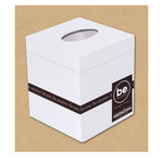 Creative Imaginations - Bare Elements Collection - Tissue Box - Emily