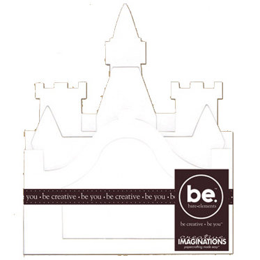 Creative Imaginations - Bare Elements - Album - Reyna - Castle Book, BRAND NEW