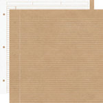 Creative Imaginations - Creative Cafe Collection - 12 x 12 Double Sided Paper - Neutral Notebook