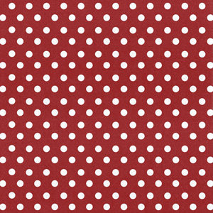 Creative Imaginations - Creative Cafe Collection - 12 x 12 Printed Felt - Dark Red Polka Dot, CLEARANCE