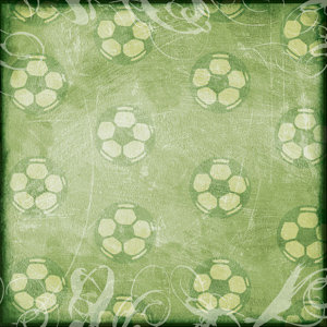Creative Imaginations - Sports Xtreme Soccer Collection by Christine Adolph - 12x12 Paper - Soccer Wash