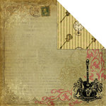 Creative Imaginations - Rock Star Collection by Marah Johnson - 12x12 Double Sided Paper - Time To Rock
